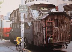 Rolling Homes: Handmade Houses on Wheels  by Jane Lidz 1979