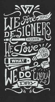 Power to the designers! #type #typography