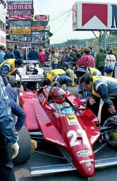 Le Mans, Belgian Grand Prix, Gilles Villeneuve, Formula 1 Car, Mclaren F1, Old Race Cars, Ferrari F1, Indy Cars, F1 Racing