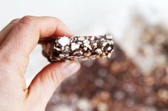 Nut-free, Kindy Friendly, Chocolate Popcorn Slice - The Whole Daily