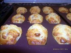 Recette de Madeleines salées aux petits lardons et fromage