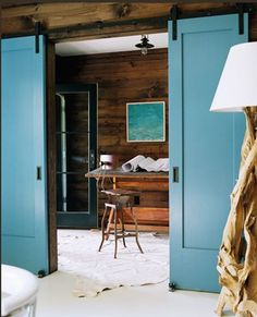 Ideas for my home office LOVE. THE DOOR COLOR
