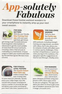 App-solutely Fabulous The best free apps on the market right now for health and fitness. Running Inspiration, Fitness Inspiration, Easy Weight Loss, Healthy Weight Loss, Good To Know, Feel Good, Best Free Apps, Watermelon Nutrition Facts, Nutrition Classes