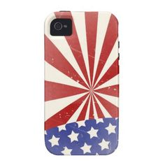 Old Glory iPhone4 case