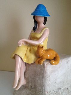 Seramik kadın# ceramic woman#sculpture
