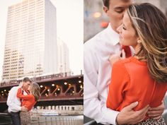 Chicago Engagement Session  by Two Birds Photography