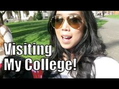 Visiting My College! - March 10, 2015 -  ItsJudysLife Vlogs