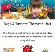 Ladybugs and Insects Theme for #preschool #preK #kindergarten