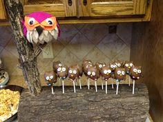 DIY Vintage Owl-themed Baby Shower: Owl Pops