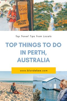 Things to do in Perth - Blonde Bee Travel Guide Australia Travel Guide, Perth Australia, Visit Australia, Western Australia, Brisbane, Melbourne, Kids Things To Do, Stuff To Do, Travel Guides
