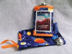 Guardians of the Galaxy Flask with Matching by CrazyJanesCustoms, $21.99