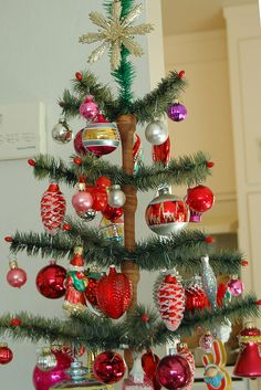 O Christmas Tree, O Christmas Tree . . . A Charlie Brown tree.  So cute!