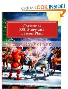 ESL Christmas story book cover