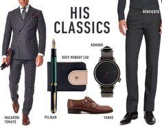 HIS CLASSICS www.hushwarsaw.com #his #classics #macaronitomato #busymondaylab #pelikan #yanko #komono #benvento #mens #fashion #polish #brands