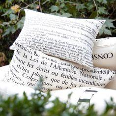 Francais Conceil Cushion from Provincial Home Living