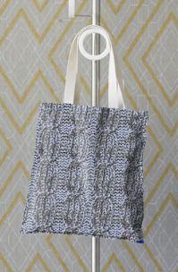Aran Cable 'knit-look' Tote Bag £20.00
