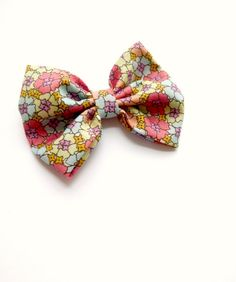 Butterfly Bowtie Vintage Liberty of London by grace and favour shop on Etsy