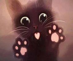 Imagem de cat and sweet