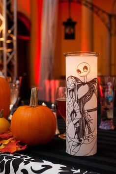 Cleveland Wedding Planner, Kirkbrides: A Nightmare Before Christmas Wedding at Josaphat Arts Hall: Kristen & Chris Halloween Town, Halloween Themes, Halloween Decorations, Halloween Weddings, Halloween Images, Halloween Design, Halloween Stuff, Happy Halloween, Wedding Decorations