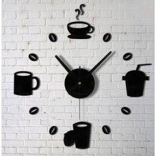 Relógio de Parede Motivos Café e Chá