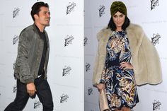 Katy Perry and Orlando Bloom May or May Not Have Flirted at Stella McCartney's Star-Studded Fashion Show