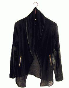 ΖΑΚΕΤΑ ΜΑΥΡΗ C-THROUGH Duster Coat, Kimono Top, Fall Winter, Jackets, Tops, Women, Fashion, Down Jackets, Moda