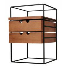 Unusual Two Drawer Widdicomb Box