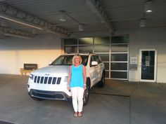 Thanks Mrs. Yoga! Enjoy your 2014 #Jeep #GrandCherokee!