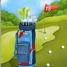 Golf Day Premium Standard Flag