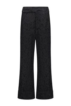 Ganni Pants Jerome Lace Black - F2099 1680 99