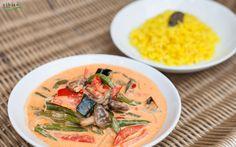 Ein feines Curry mit Zitronengras-Reis passt doch immer, nicht?!