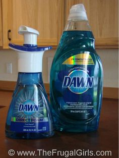 How to Make Foaming Dish Soap…