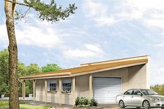Projekt G2-4.12a Bungalow House Plans, Bungalow House Design, Country Modern Home, Facade House, Home Design Plans, Wood Construction, Planer, Sweet Home, Building