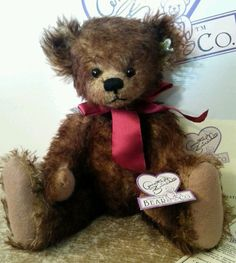"""Annette Funicello """"Toffee"""" Bear 15"""" Limited Edition   eBay"""