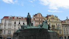 Jan Hus stood at the center of Old Town Square...