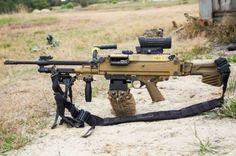 Big Guns, Cool Guns, Airsoft Girls, Light Machine Gun, Machine Guns, Heckler & Koch, Military Weapons, Guns And Ammo, Winchester