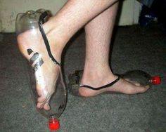 e46c069965 Comment fabriquer ses chaussures aves des bouteilles en plastiques
