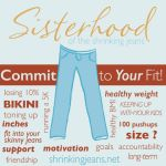 Sisterhood Commit to Your Fit DietBet Transformer game. #dietbet #6month #weightloss