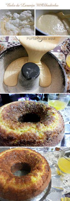 Aprenda a fazer essa receita de bolo de laranja molhadinho e delicioso para o lanche a qualquer hora! Uma maravilha!