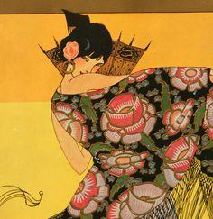 Vintage Art Deco Fashion Catalog Aurora Cone Decoration And Its Uses Art Deco Illustration, Fashion Illustration Vintage, Vintage Illustrations, Fashion Illustrations, Graphic Illustration, Art Vintage, Vintage Posters, Flapper Party, Art Jokes
