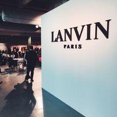 Paris Fashion Week Diary: Lanvin Fall 2015 | Visual Therapy