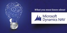 Microsoft Dynamics NAV (formerly Navision) is part of Microsoft's Enterprise Resource Planning (ERP) software portfolio... http://www.karyatech.com/blog/what-you-must-know-about-microsoft-dynamics-nav/