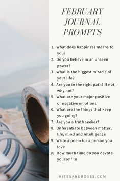Prompts can make your vision clear and can help you write effectively. If you are ever unclear as to how to get your thoughts on paper, that's where journal prompts come to serve as inspiration. January Journal Prompts, Journal Writing Prompts, Journal Topics, Memoir Writing, Writing Tips, Creative Writing, Journal Questions, Happiness Meaning, Bullet Journal Inspiration
