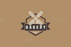 Bakery Vector Logo Template  on @creativework247