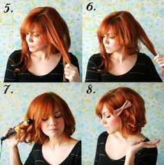 21 How to Make a Short Hairstyle Without Cutting
