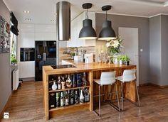 nowoczesna wyspa kuchenna