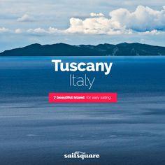 #Tuscany #Italy #sailing  www.sailsquare.com