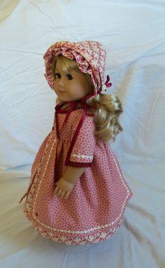 American Girl Caroline 2 Piece Regency Ensemble/ Clothes for American Girl Dolls. $72.00, via Etsy.
