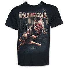 Walking Dead Crawling Walker Black Tee Shirt