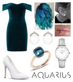 """Aquarius"" by luminous-alien ❤ liked on Polyvore featuring Nicholas, Kataoka, Pomellato and CLUSE"